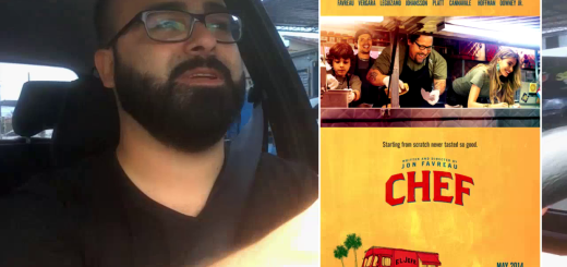 chef cinema no carro